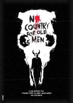 No Country for old men   Onde os fracos não tem vez (2007) Design: Daniel Norris