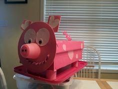 Novedades Elsita, Buzón De San Valentín, Happy Valentines, Piggy Valentine,  Valentine Boxed, Future Valentines, Pig Valentines Day Boxes, Brooklyn S ...