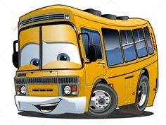 Cartoon School Bus by Mechanik Vector Cartoon Shool Bus. Available hi-res JPG, PNG with transparency, and vector formats separated by groups and l Cartoon School Bus, School Bus Driver, School Buses, Cartoon Eyes, Cartoon Clip, Car Vector, Wheels On The Bus, Clip Art, Funny Cartoons