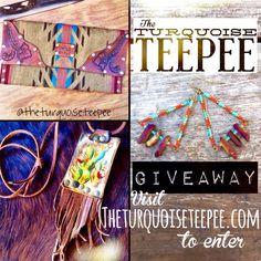 Vday giveaway. Turquoise Teepee style www.theturquoiseteepee.com