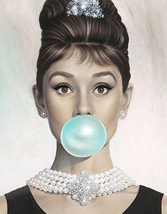 Michael Moebius 'Tiffany Blue' Print