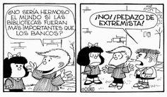 Soy Bibliotecario: Mafalda y las bibliotecas