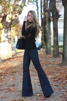 """""""Casual Friday"""" doesn't mean just any jean. Here is a nice dark jean without holes to for an appropriate """"Casual Friday"""" look."""