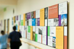 Dell Children's Hospital Donor Wall by Robin Baker, via Behance