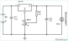 It is a circuit diagram of a dark detector using LDR which when ...