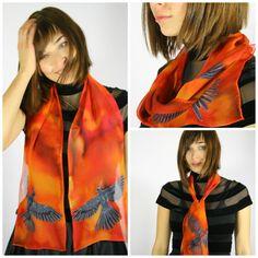 www.etsy.com/listing/214043943/mockingjay-scarf-flames-scarf-fire-scarf