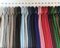Macrame cord 4mm, macrame rope, macrame supplies, macrame string, chunky yarn, yarn for macrame, macrame yarn, cotton rope, craft cord, rope