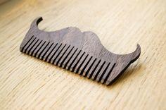 Wooden comb wood comb hair comb comb beard comb от LaserBrothers