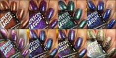 Sassy Paints: Superchic Lacquer: Scriptures Collection Swatches