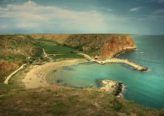 Bolata Cove, Bulgaria...If I have a blank stare on my face, this is where I am at. :)
