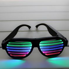 Novelty Items Color Changing High Quality Promotional Sound Activated Funny Novelty Sunglasses - search result, Shenzhen Greatfavonian Electronics Co. Novelty Sunglasses, Sunglasses Online, Shenzhen, Shutter Colors, Wedding Giveaways, Wholesale Sunglasses, Novelty Items, Buying Wholesale, Corporate Gifts