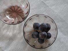 翁再生硝子工房 ブドウ小鉢