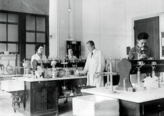 My Great-Great-Aunt Discovered Francium. And It Killed Her. - NYTimes.com Sonia Cotelle (left) and Marguerite Perey (second from left) at the Curie laboratory in 1930. Each died from radiation exposure. Credit Musée Curie/ACJC Collection