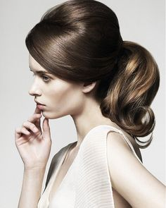 Stylish Retro ponytail