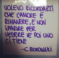 Be Different... www.warriorsproject.it charles bukowski frasi - Cerca con Google