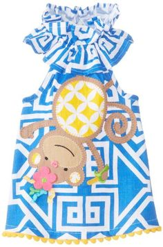 Mud Pie Baby-Girls Newborn Monkey Dress, Multi, 6-9 Month... https://www.amazon.com/dp/B00HN29EPA/ref=cm_sw_r_pi_awdb_x_fqzyybHEN7Q36