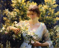 Summer Morning ~ Charles Courtney Curran ~ (American 1861-1942)