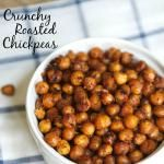 How to Make Crunchy Roasted Chickpeas