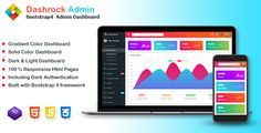 Buy Dashrock - Multipurpose Bootstrap 4 Admin Dashboard Template by codervent on ThemeForest. Description Dashrock is a fully responsive bootstrap 4 admin dashboard template. It is built with bootstrap 4 framewo. Pose, Ui Components, Dashboard Template, Web Browser, Website Template, Bootstrap, App, Templates, Desktop