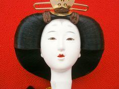 Japanese Doll Head Hina Matsuri Woman Hina by FromJapanWithLove, $18.00