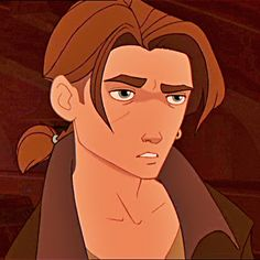 Jim Hawkins (Treasure Planet) hair