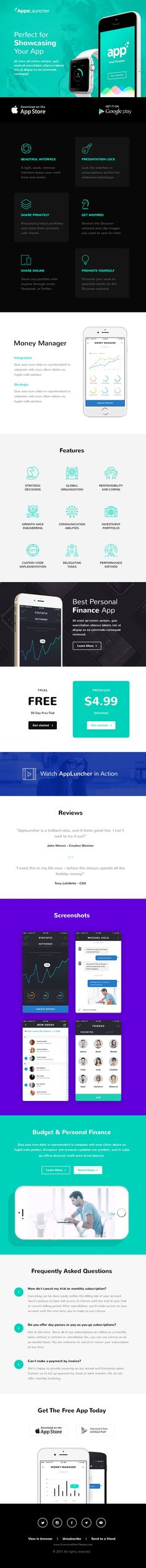 Responsive Html Email Template By Medialoot On Creative Market