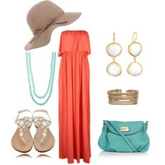 This outfit is just too perfect for hot weather to come our way #fashion #summerclothing