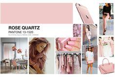 Color of the Year - Pantone 2016 Rose Quartz