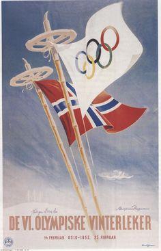25.02.1952 De 6. olympiske vinterleker ble avsluttet i Oslo (Wikipedia)
