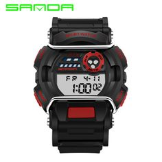 Check it on our site SANDA Fashion Men Sports Watches Silicone LED Men Digital Watches For Men Sports Wristwatches Sport Watch Relogio Masculino  just only $10.80 with free shipping worldwide  #menwatches Plese click on picture to see our special price for you