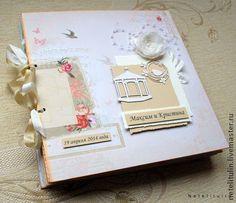 """Фотоальбом """"Свадебное путешествие"""" - бежевый,фотоальбом,фотоальбом свадебный"""