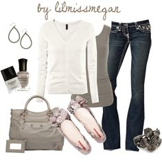 """Simply Casual"" by lilmissmegan on Polyvore"