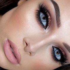 Stunning @jessicarose_makeup ❤️❤️❤️ @shophudabeauty lashes in Scarlett launching October 13 on sephora.com