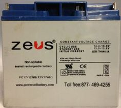 BATTERY SCOOTER 12V 17AH ZAPPY SCOOTER BATTERY,CSB TECH by Zeus. $44.99. BATTERY SCOOTER 12V 17AH ZAPPY SCOOTER BATTERY,CSB TECH
