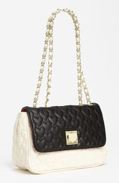 Betsey Johnson Be My One And Only Tote   Betsey Johnson 'Be My One & Only' Shoulder Bag   Nordstrom