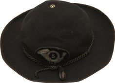 """Military & Patriotic:Civil War, Scarce Pattern Officer's Hat with Regimental Insignia and SoldierAlteration. This classic """"plug hat"""" form of the Civil War ..."""