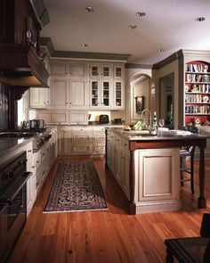 I love everything about this kitchen, in particular the mix of colors.