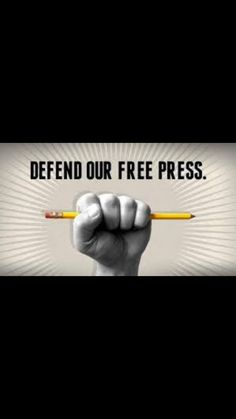 The Constitution Is Clear Regarding Freedom Of The Press.