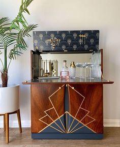Art Deco Furniture, Art Object, Liquor Cabinet, Buffet, Household, Sweet Home, Storage, Espresso Martini, Friday Feeling