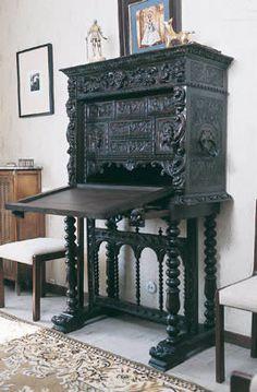 Bargue o el mueble de los secretos 0958 sala retiro for Muebles antiguos barcelona