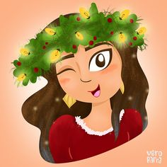 Merry Christmas by Vero Parra