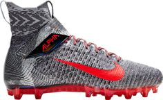 Nike Cleats, Mens Football Cleats, Nike Flyknit, Shoe Size Chart, Strap Heels, Sports Shoes, Put On, Comfortable Shoes, Nike Free