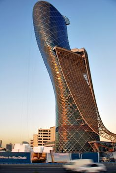 The Leaning Tower of Abu Dhabi | Archifan Blog