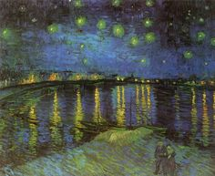 $112, Starry Night over the Rhone