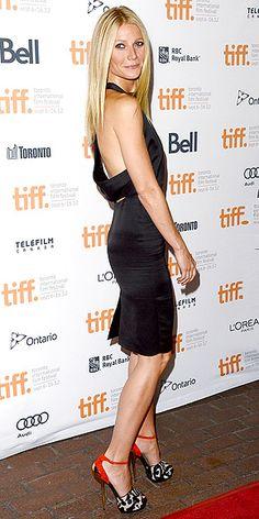 Gwyneth-LBD+fabulous heels.