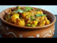 आसान तरीके से बनाऐं गोभी मटर की सब्ज़ी || How to make Gobhi Matar recipe || FULL THAALI - YouTube