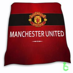 New Manchester United Logo Blanket