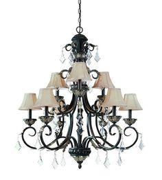 Dolan Designs Florence 9 Light Chandelier in Phoenix 2102-148 #lightingnewyork #lny #lighting