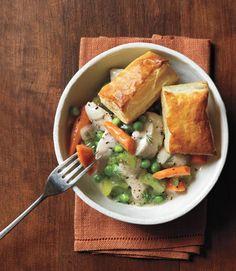 Slow Cooker Chicken Pot Pie  - CountryLiving.com