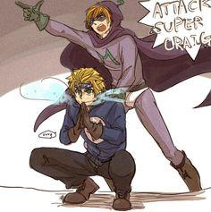 Mysterion y Wonder Tweek